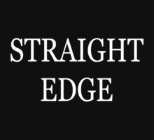 Straight Edge by humanwurm