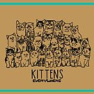 KITTENS EVERYWHERE by Amanda Balboa