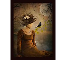 The Bird Watcher... Photographic Print