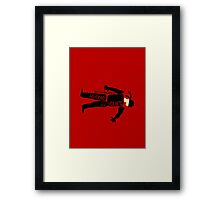 Anatomy of a Vigilante Framed Print