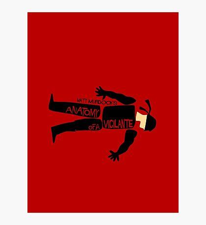 Anatomy of a Vigilante Photographic Print