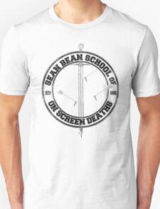 Sean Bean School of On Screen Deaths T-Shirt
