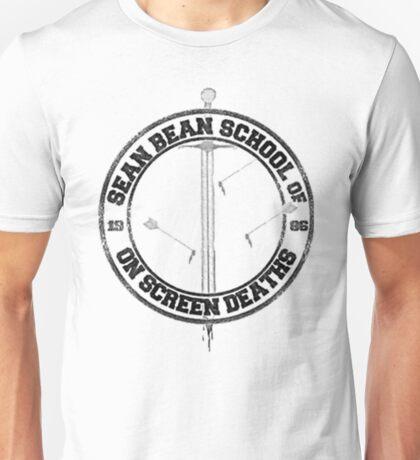Sean Bean School of On Screen Deaths Unisex T-Shirt