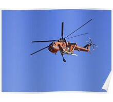 The Helicopter Kestrel Poster