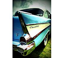 Fins and Chrome Photographic Print