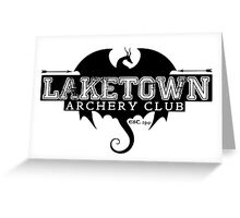 Laketown Archery Club Greeting Card