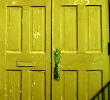 Door 205 Gold by Philip Okoro