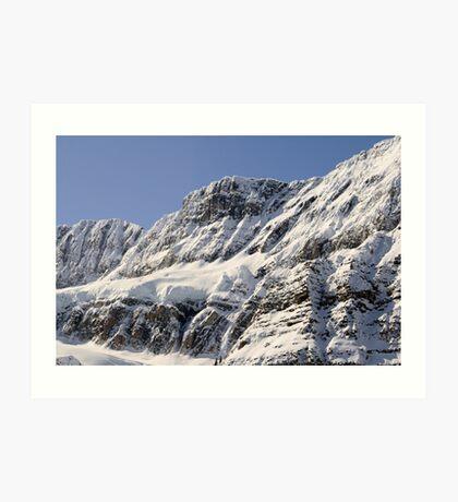 Frozen Rockies Art Print