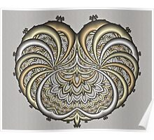 Filigree Heart Poster