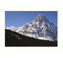 Rocky Mountains Icefields Hwy Art Print