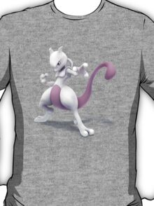 Mewtwo Super Smash Bros for Wii U and 3DS T-Shirt