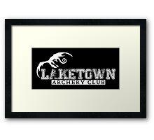 Laketown Archery Club Framed Print