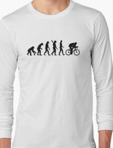 Evolution cycling bicycle Long Sleeve T-Shirt