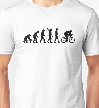 Evolution cycling bicycle Unisex T-Shirt