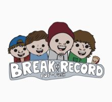 Break The Record Pop Punk Cartoon Design Kids Clothes