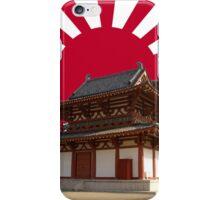 Land of the Rising Sun- Shitennoji temple iPhone Case/Skin
