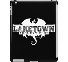 Laketown Archery Club (Dark) iPad Case/Skin