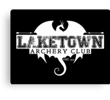 Laketown Archery Club (Dark) Canvas Print