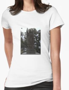 Watchful Angel Womens Fitted T-Shirt
