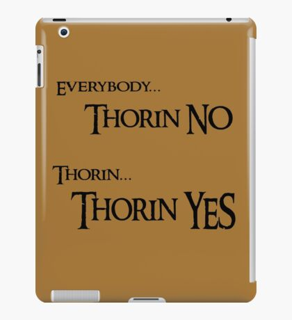 Thorin NO, Thorin YES iPad Case/Skin