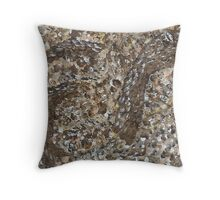Viper in the Sand Throw Pillow