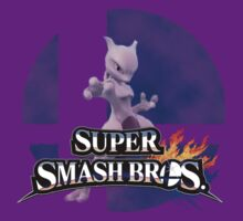 Mewtwo Smash Bros 3ds/Wiiu by Pompelmo