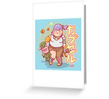 Chubby Bulma Greeting Card