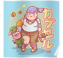 Chubby Bulma Poster