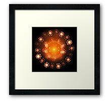 'Source of the Soft Fire' Framed Print