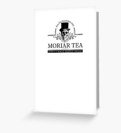 Moriartea of London - Sherlock Greeting Card