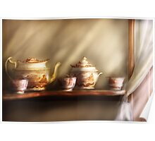 My Grandmother's Chinese Tea Set Poster