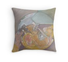 Artist's Reflection Throw Pillow