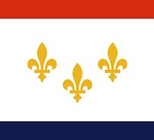 Flag of New Orleans  by abbeyz71