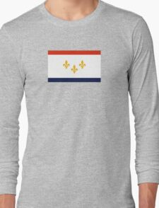 Flag of New Orleans  Long Sleeve T-Shirt