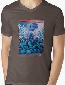 Blue Angel Mens V-Neck T-Shirt