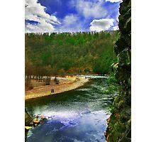 Lehigh River at Glen Onoko  Photographic Print