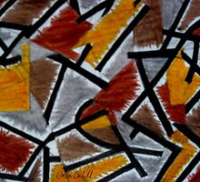 Abstract Leger by Orla Cahill