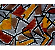 Abstract Leger Photographic Print