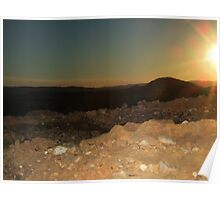 Sunset at Bell Springs Poster