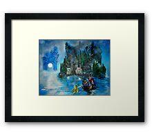 Master of the Lake Framed Print
