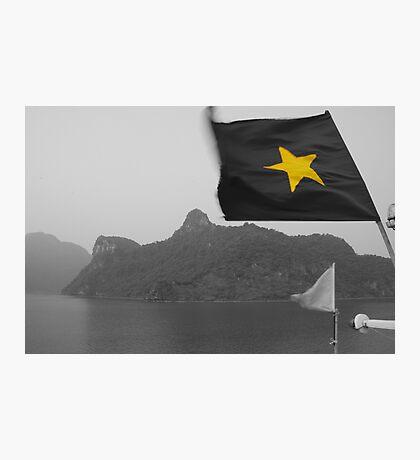 Vietnamese Flag Photographic Print