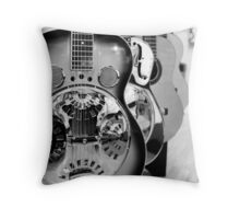 Licks Yet to be Played Throw Pillow