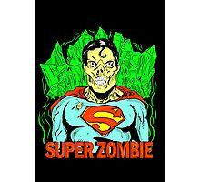 Zombie Superman Photographic Print