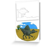 Spino Day Out Greeting Card