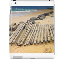 Beach Erosion - Kingscliff NSW Australia iPad Case/Skin
