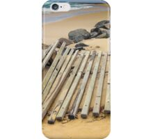 Beach Erosion - Kingscliff NSW Australia iPhone Case/Skin