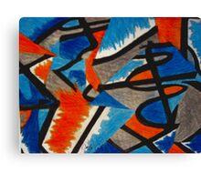 Abstract Leger no.2 Canvas Print