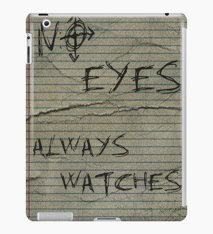 NO EYES iPad Case/Skin