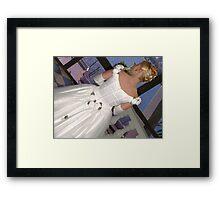 The Wedding Dress Framed Print