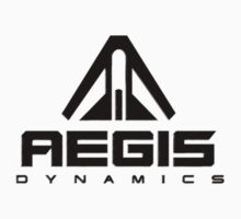 Aegis Dynamics BLACK LETTERS  (Any color) by mechabot4